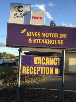 Kings Motor Inn and Steakhouse