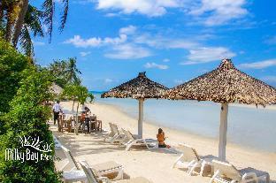 ロゴ/写真:Milky Bay Resort