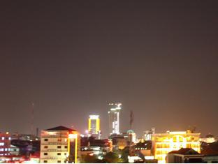 Aqua Boutique Guesthouse Phnom Penh - Northern View Night