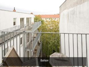 Pfefferbett Apartments Berlin - Balkons/terase