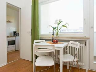 A & B Apartment & Boardinghouse Berlin Berlín - Cocina