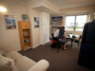 City Lodge Backpackers Auckland - Hotellet indefra