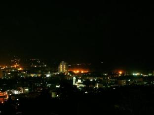 Prince Edouard Resort Phuket - View from town at night