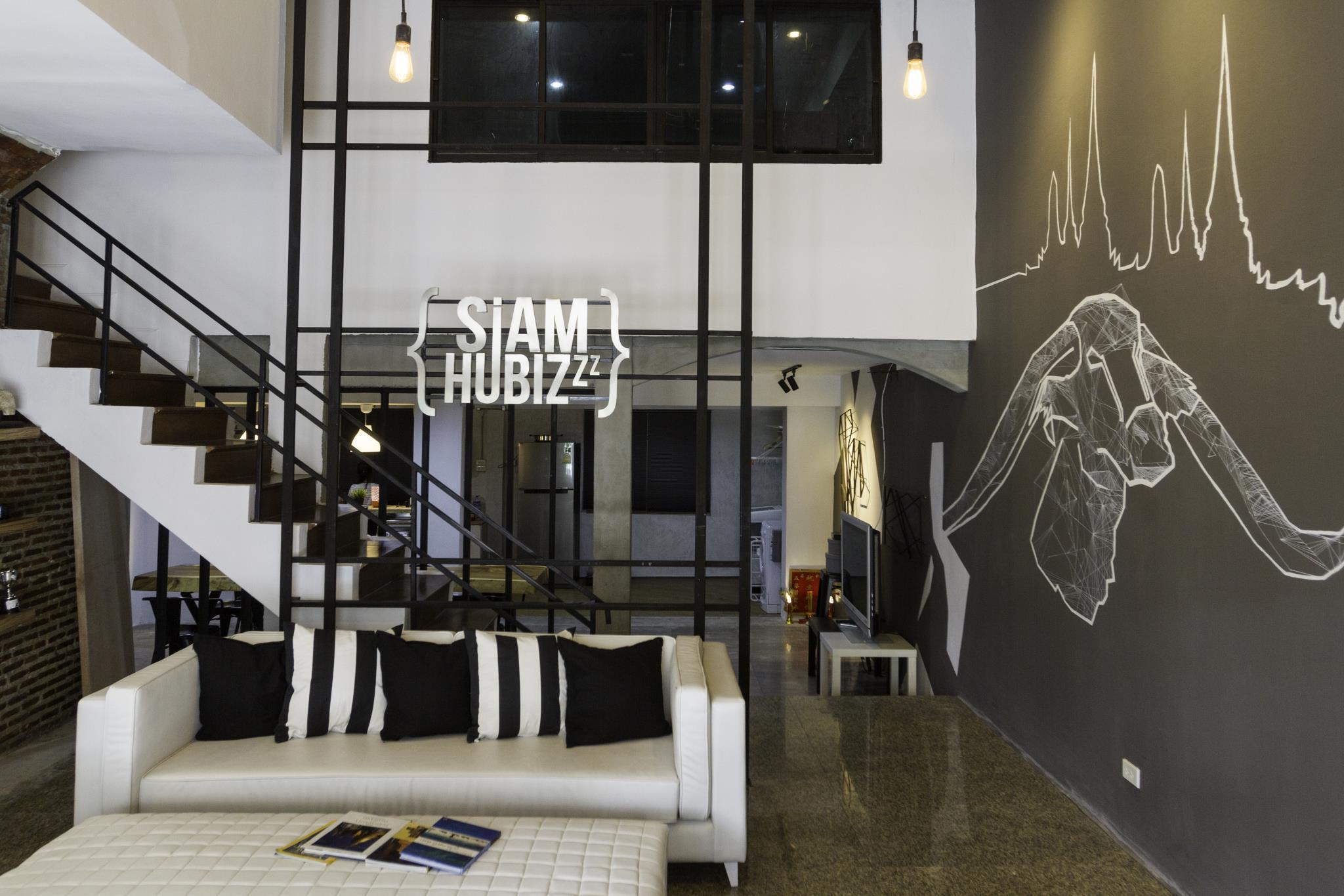 Siamhubbiz Hostel Bangkok ,สยามฮับบิส โฮสเทล กรุงเทพ