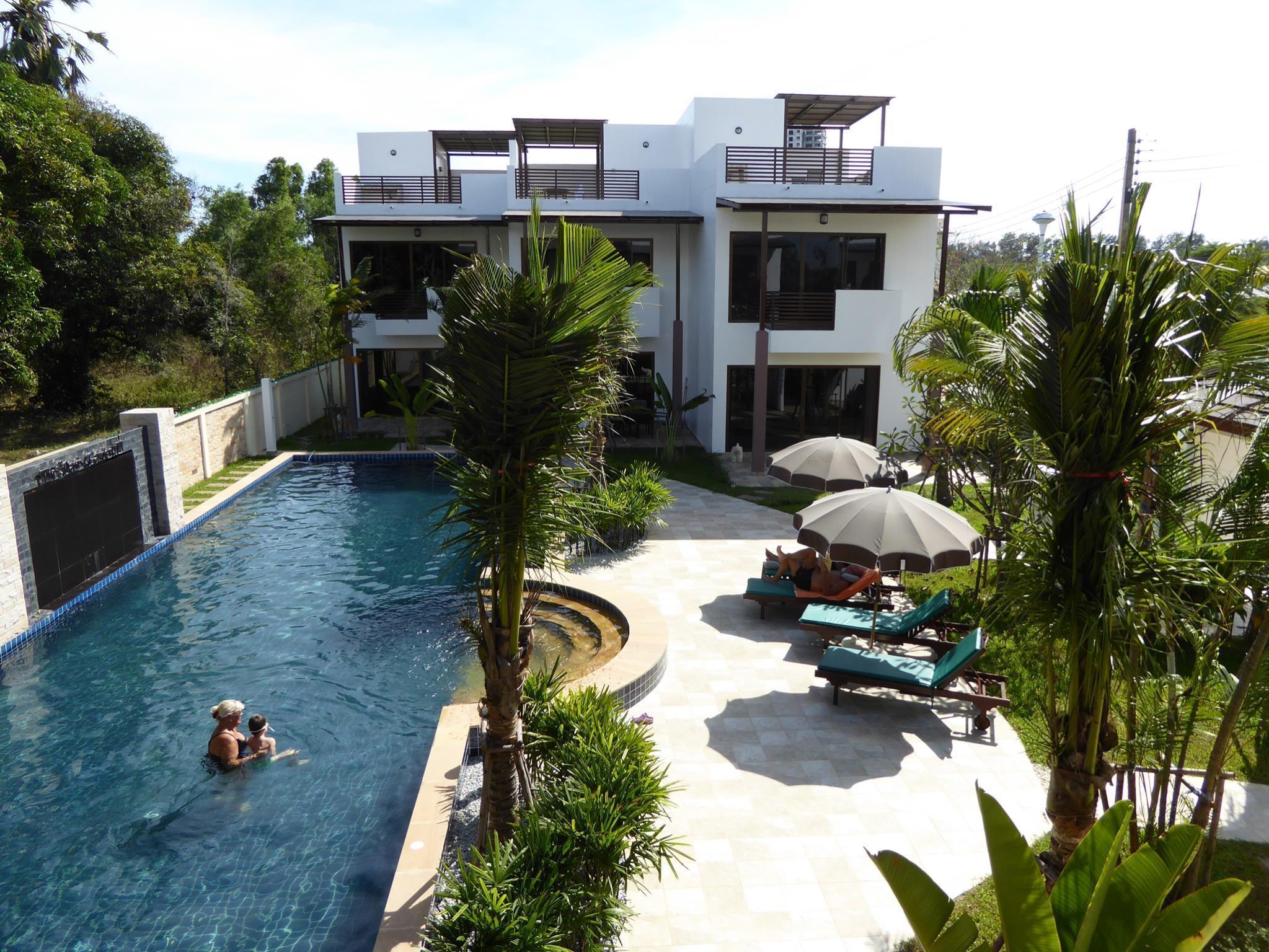 Oasis Garden and Pool Villa at VIP Chain Resort,โอเอซิส การ์เดน แอนด์ พูล วิลลา แอท วีไอพี เชน รีสอร์ต