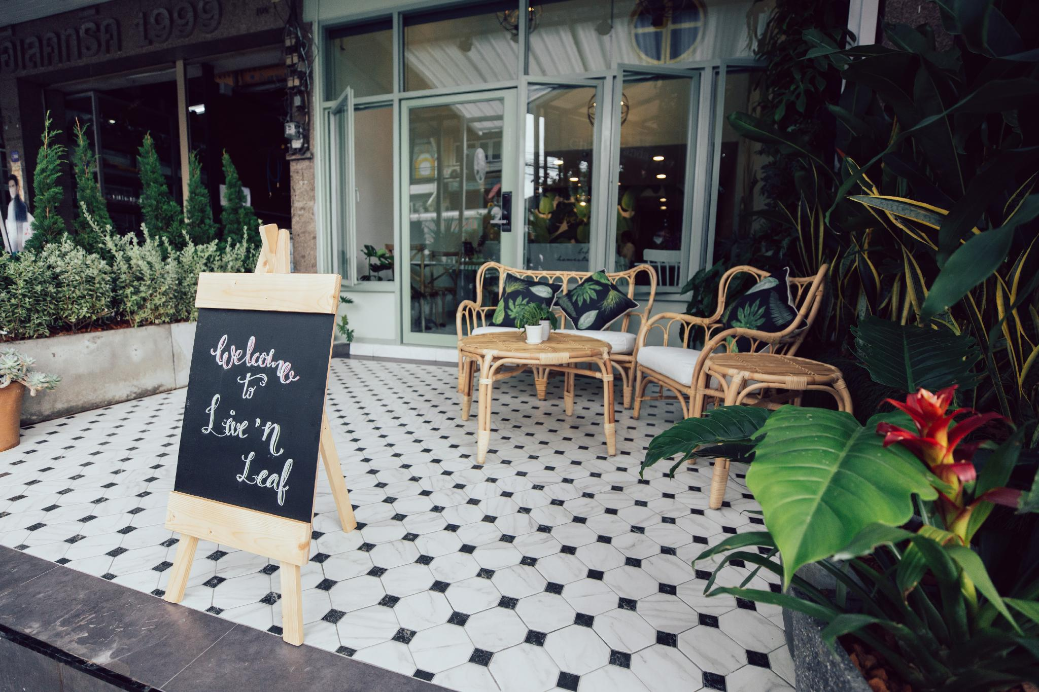 ,Live n' Leaf life style homestay and cafe