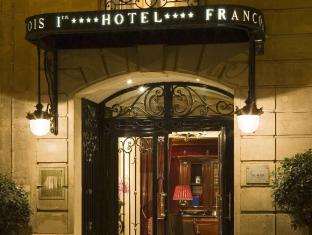 Hotel Francois Premier Paris - Original hotel entrance