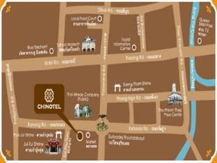 Chinotel Пхукет - kарта