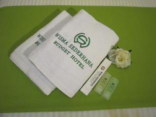Wisma Sederhana Budget Hotel Медан - Ванна кімната