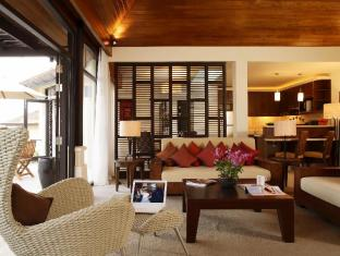 IndoChine Resort & Villas Phuket - Pool Villas 2-3 Bedroom - Living Room