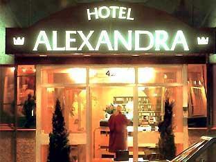 Alexandra Hotel Stockholm - Hotellet från utsidan