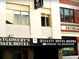 Montgomery's Private Hotel & YHA Hobart - Exterior