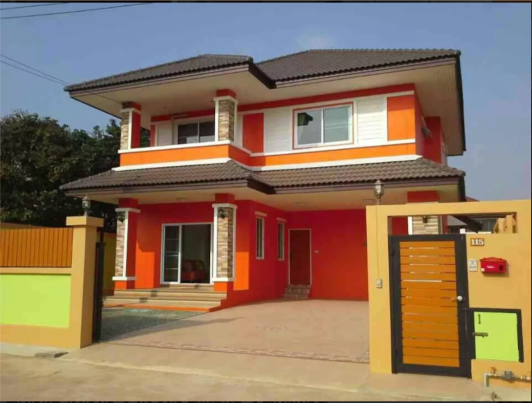,Orange Villa 4bedrooms 5min to  Nimman road