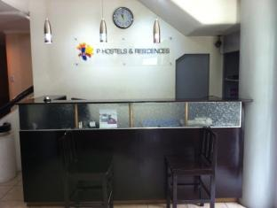 P Hostels & Residences Manila - Reception Desk
