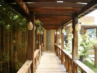 Leslie's Palawan Tropical Hotel, Resort and Restaurant Puerto Princesa City - Hallway to Rooms