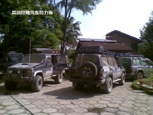 Baghmara Wildlife Resort Chitwan National Park - car rally