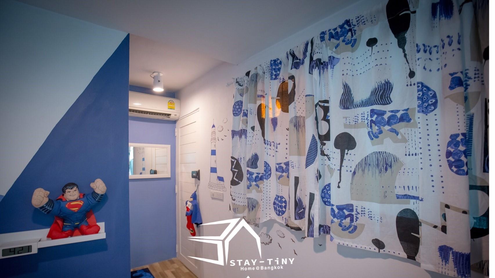 STAY TiNY Home Bangkok Blue Room,STAY TiNY Home Bangkok Blue Room