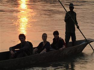Chitwan Adventure Resort Chitwan National Park - Canoe Trip