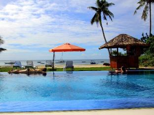 Bohol South Beach Hotel Panglao Island - Ocean view from Infinity pool