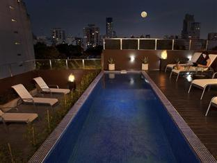 Palermo Tower Hotel Buenos Aires - Outdoor Pool at Night