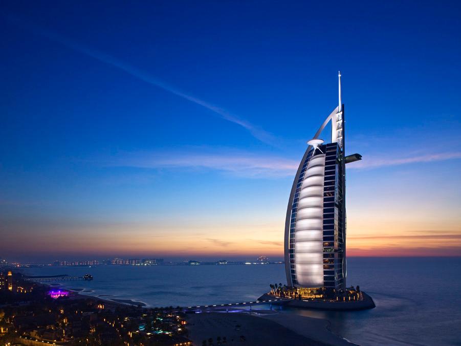 Burj al arab hotel jumeirah beach dubai united arab for El arab hotel dubai