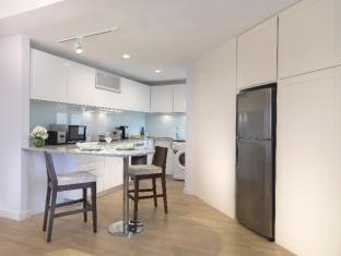 Ambassador Row Serviced Suites by Lanson Place Kuala Lumpur - Two Bedroom Premier Duta Suite- Kitchen