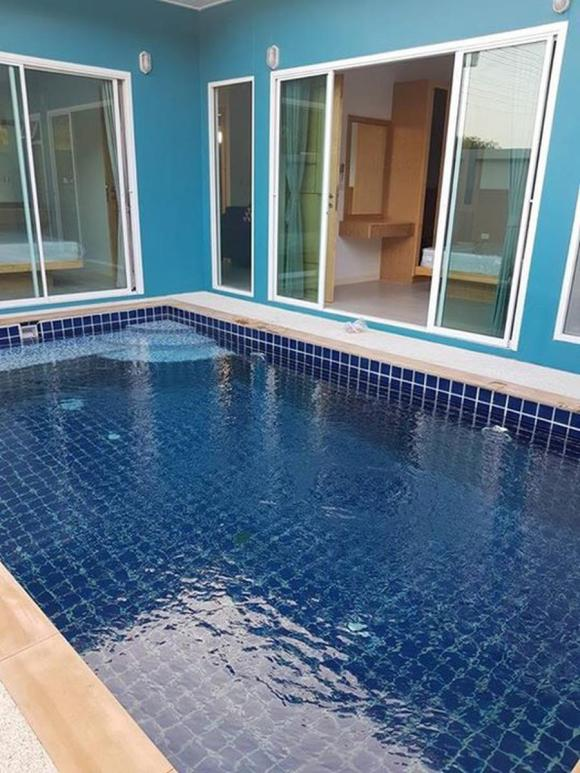 2 rooms pool villa @ Paklok free airport transfer