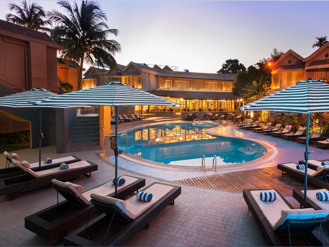 Whispering Palms Beach Resort North Goa