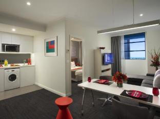Citadines St Georges Terrace Apartments Perth Perth - Külalistetuba
