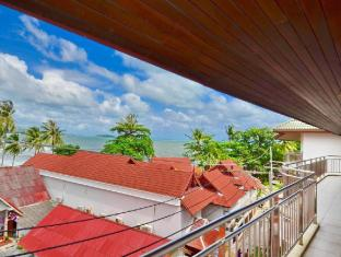 Samui First House Hotel Samui - Top Terrace View - Superior Building