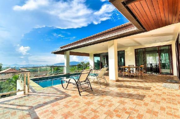 Seaview Pool Villa 5 BDR Lux @ Chalong V2