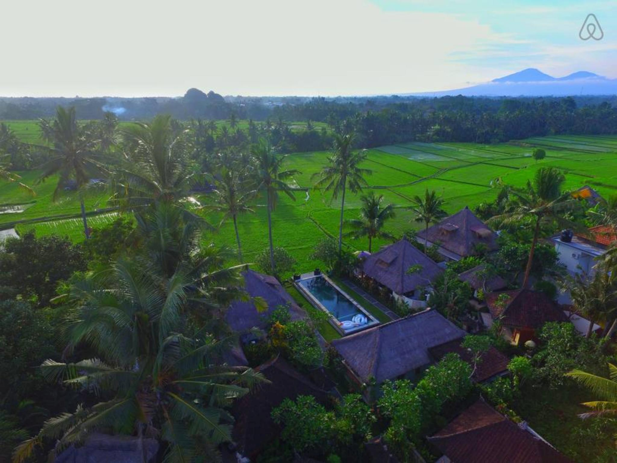 Villa Butterfly-Rice Fields-Sunset View-Pool-Resto
