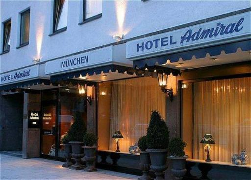 Hotel Admiral PayPal Hotel Munich
