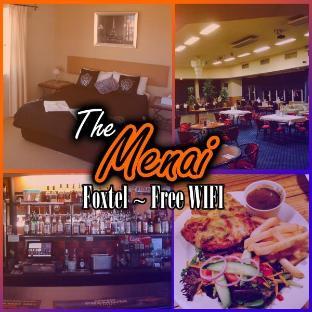The Menai Hotel Motel Burnie takes PayPal