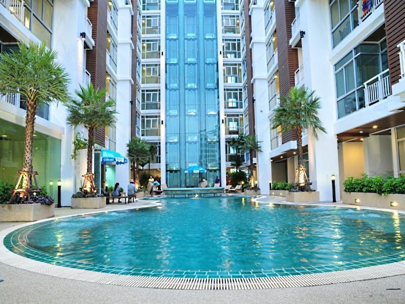 The art patong apartment patong phuket thailand for Patong apartments