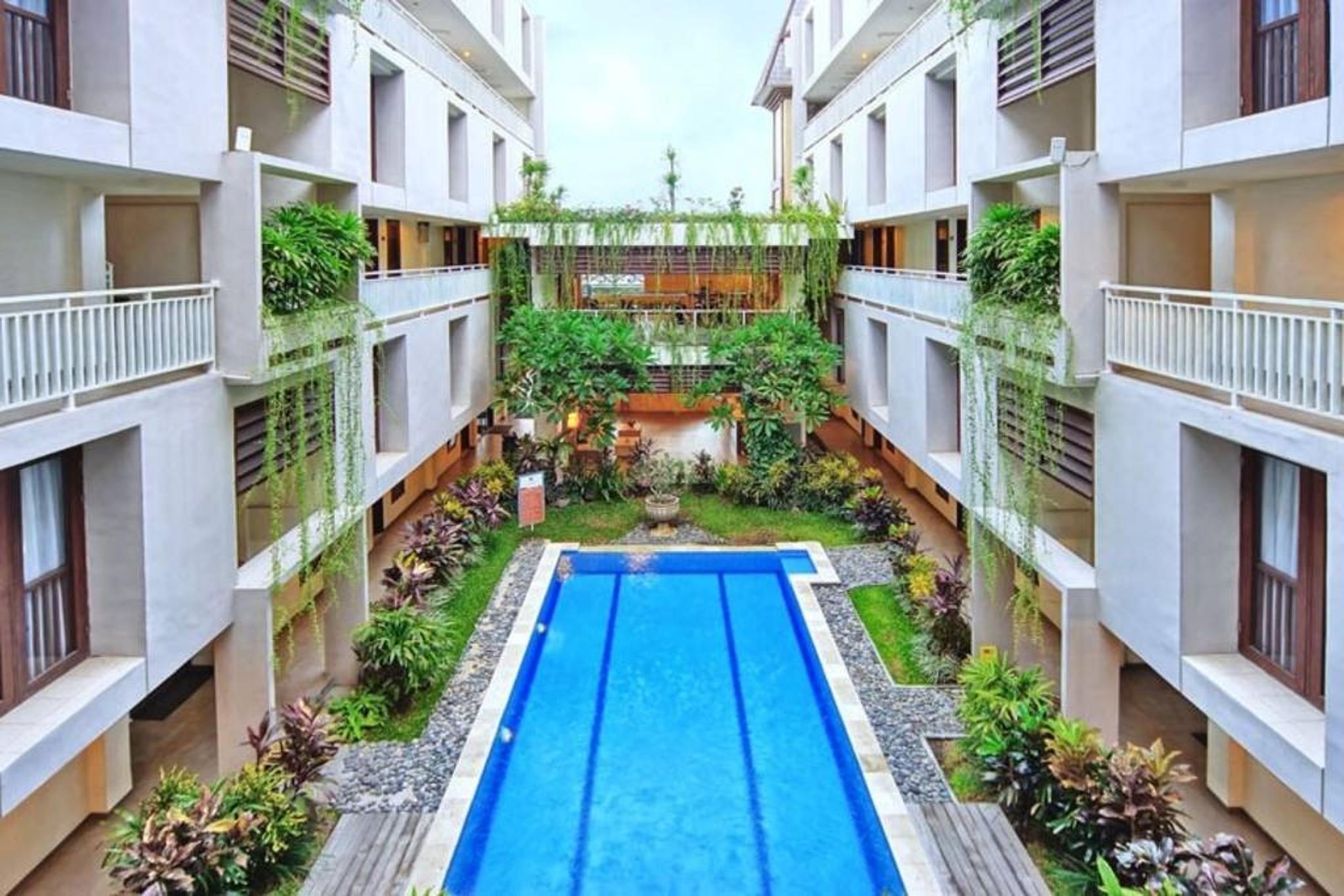 #Deluxe 1 Bdr residence4 #4 Adult #Legian-Seminyak