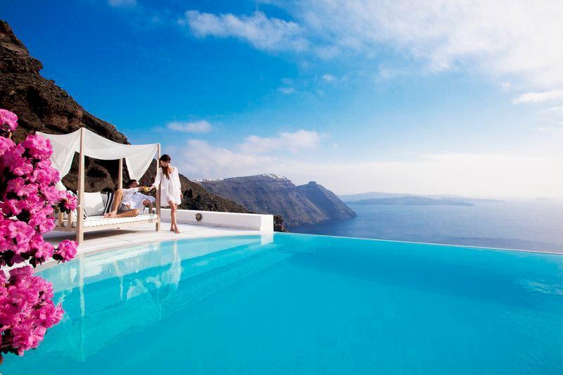 San Antonio Luxury Hotel Santorini Greece