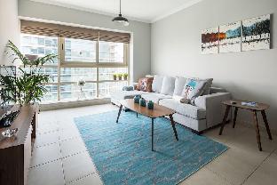 Stylish + Bright 1BR with Dubai Marina views!