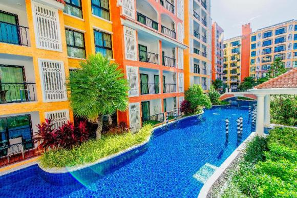 (Gym/sauna) Spacious waterpark apartment pool view - 14944970