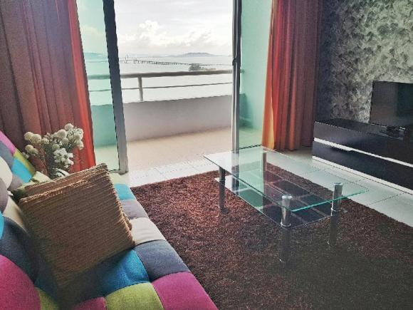 Penang Bridge Seaview 3BR | Cozy Homestay