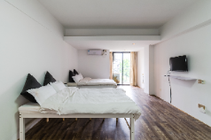 Simple style 4 person room, Xiamen