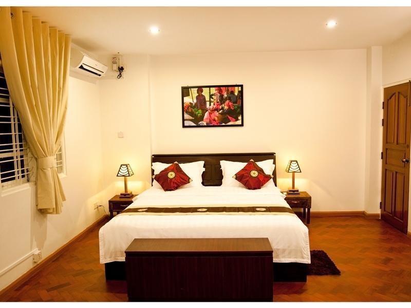 【 ヤンゴン 空室ホテル】Thanlwin Guest House(Thanlwin Guest House)