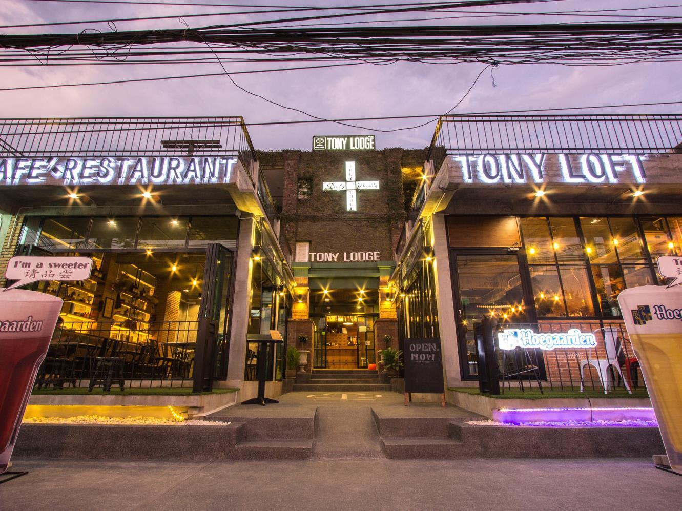 โทนี ลอดจ์ - Tony Lodge
