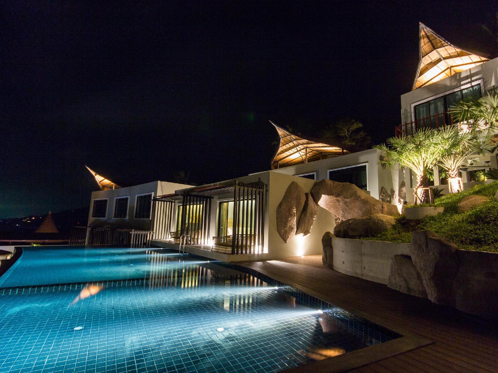 The Tarna Align Resort Koh Tao Map