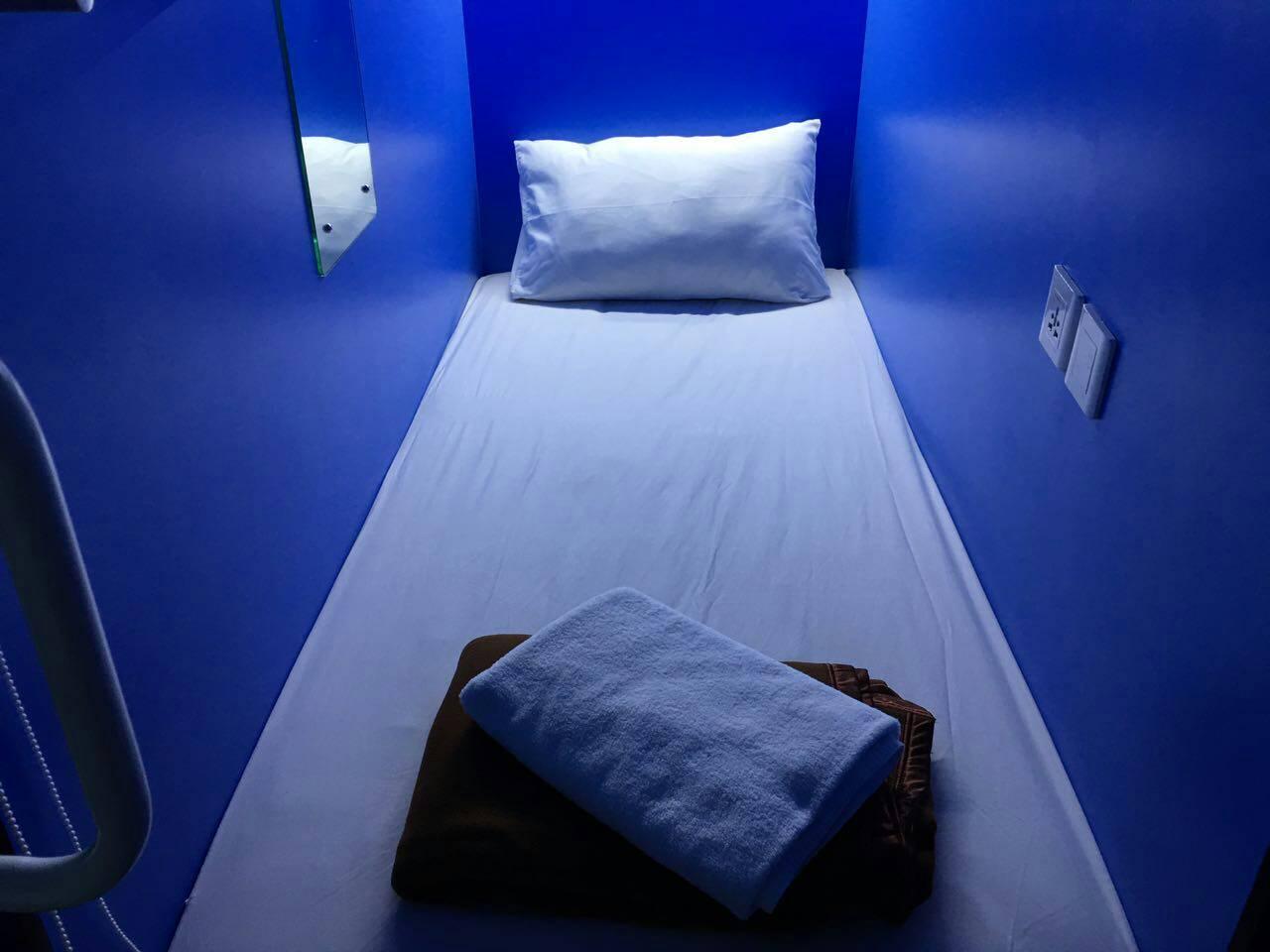 Hotel QB Sleep Capsule Hotel - Patih Jelantik Street Blok PM 1 No.10 - Central Park Kuta, Bali - Bali