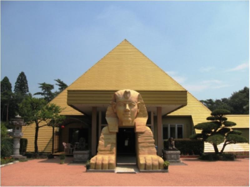 Pyramid Onsen Nasushiobara Japan