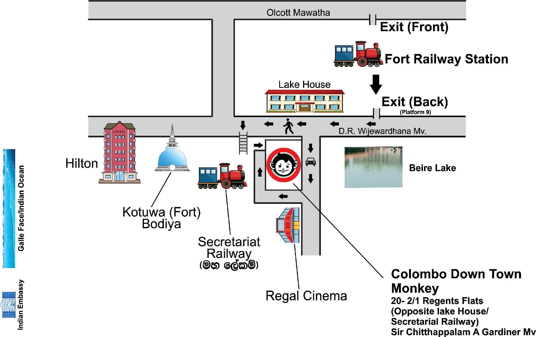 Colombo Fort Kartta Reittiohjeet Navitime Transit