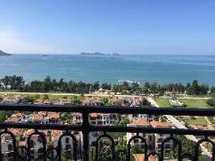 Double Moon Beach Balcony Seaview 3-room apartment, Huizhou