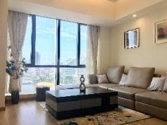 One bedroom with ocean view at Garden Hotel, Zhanjiang