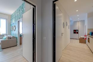 位于市中心的1卧室公寓-50平方米|带1个独立浴室